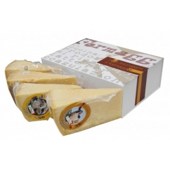 Special selection of 4 types Parmesan cheese