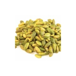 Pistachios shelled and peeled