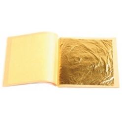 22-carat gold sheets 86x86mm