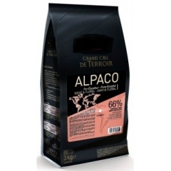 Alpaco 66% dark chocolate...