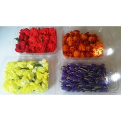 Flowers 10-15 pieces (one...