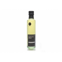 Olive oil flavored with white truffle