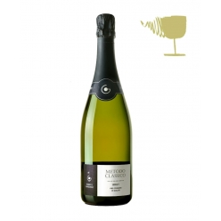 Brut sparkling wine Garbarino Piemonte (grape Chardonnay and Pinot)