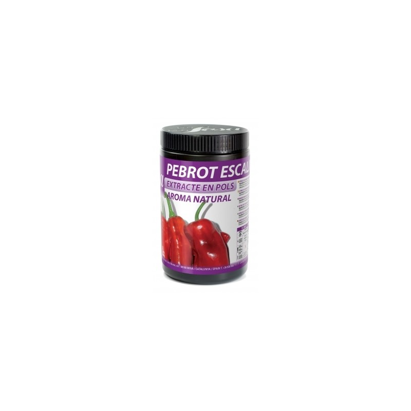 Powdered roasted peppers natural extract