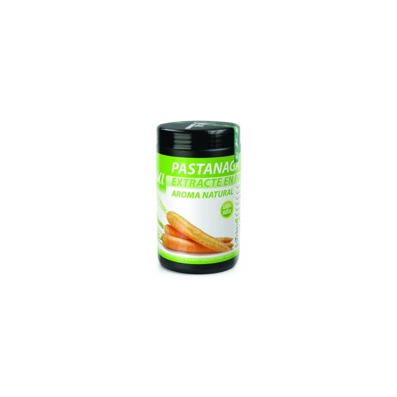 Powdered carrot natural extract