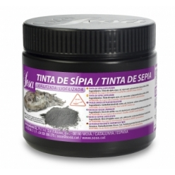 Freeze dried squid ink