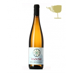 Muller Thurgau white organic wine - winery Radoar