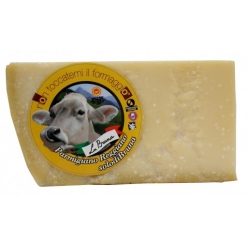 Parmesan cheese from 'Bruna race' Parma 1 kg